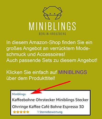 Strichcode Manschettenknöpfe Miniblings Knöpfe + Box Barcode Code Scanner silber - 4