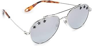 Women's Star Aviator Sunglasses