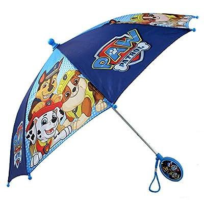 Nickelodeon Boys' Little Paw Patrol Character Rainwear Umbrella, Dark Blue, Age 3-6