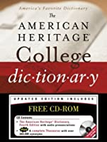 American Heritage College Dictionary, Fourth Edition with CD-ROM
