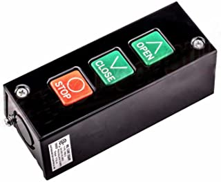 Commercial Garage Door Opener 3 Button Wall Mount PBS 3 Control Station