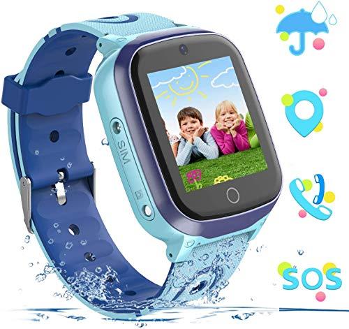 Kids Smart Watch Phone Watch GPS Tracker Smartwatch for Boys Girls Kids...