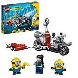 LEGO Minions MotodaInseguimento, Giocattolo con i...