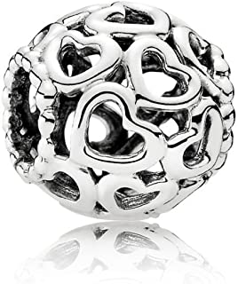PANDORA Open Your Heart Charm, Sterling Silver, One Size