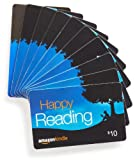 Amazon.com $10 Gift Cards, Pack of 10 (Amazon Kindle Card Design)