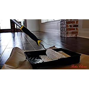 Bates Paint Roller - Paint Brush, Paint Tray, Roller Paint Brush, 9 Piece Home Painting Supplies, Foam Brush, House Painting Tray, Painting tools, Roller and Paint Brushes, Wall Paint Brushes