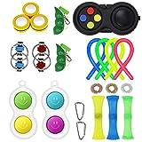 Lunriwis Fidget Toy Set, 24 Piezas Juguetes Sensoriales Fidget, Alivio del Estrés y Juguetes Sensoriales Antiansiedad para Niños y Adultos (Type1)