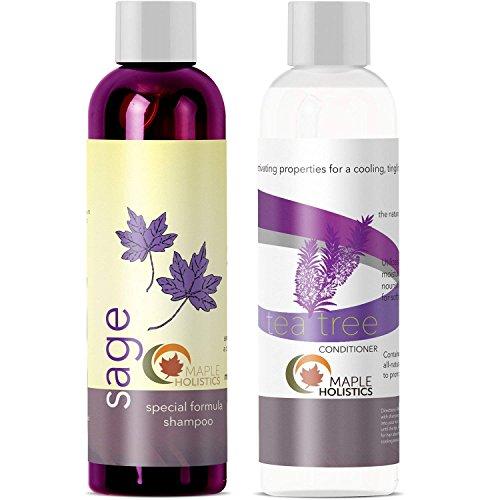 Maple Holistics Sulfate shampooing et huile de théier...