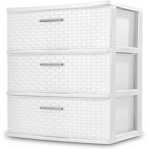 sterilite small 3 drawer unit - 7