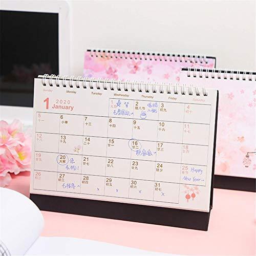 fllyingu Calendario Mesa Independiente Calendario de Escritorio ...