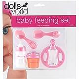 Dolls World 016-08709 Baby Feeding Set