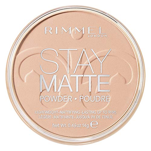 Rimmel Stay Matte Pressed Powder, Natural, 0.49 Ounce (Pack of 1)