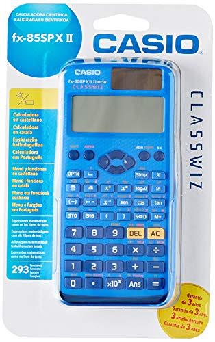 Casio FX-85SP X II - Calculadora Científica, Recomendada para el Curriculum...