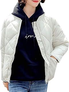 maweisong 女性超軽量スタンドカラー梱包ショートダウンジャケットコートアウト