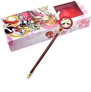 Maricopyjam Cardcaptor Sakura Metal Costume Magic Wand/Staff Cosplay Anime Girls  Wands Kids  Birthday Gifts