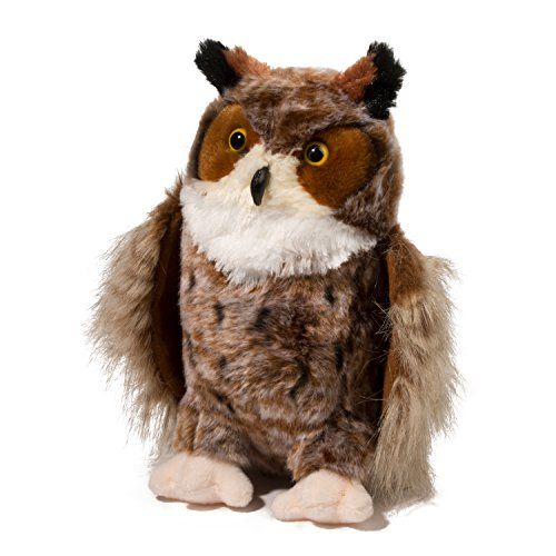 Douglas Einstein Great Horned Owl Plush Stuffed Animal