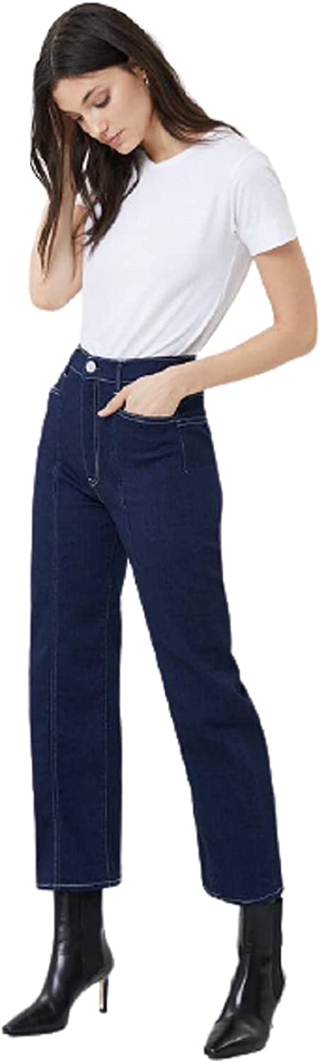 3x1 Women's Dillon Albany Store High-Rise Surprise price Leg Crop Jeans Wide 23