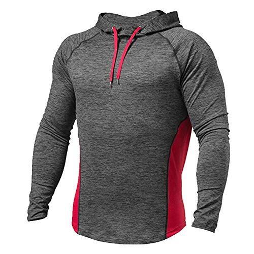 Camiseta de los hombres con capucha camiseta de los hombres ropa deportiva de los hombres
