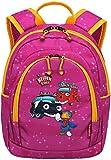 Travelite Robuste, fröhliche Kinderkoffer und Gepäckstücke Helden der Stadt machen jede Reise zum Abenteuer Kindergepäck, 5.5 Liter, Pink