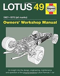 LOTUS 49 MANUAL 1967-1970 (ALL (Owners Workshop Manual)