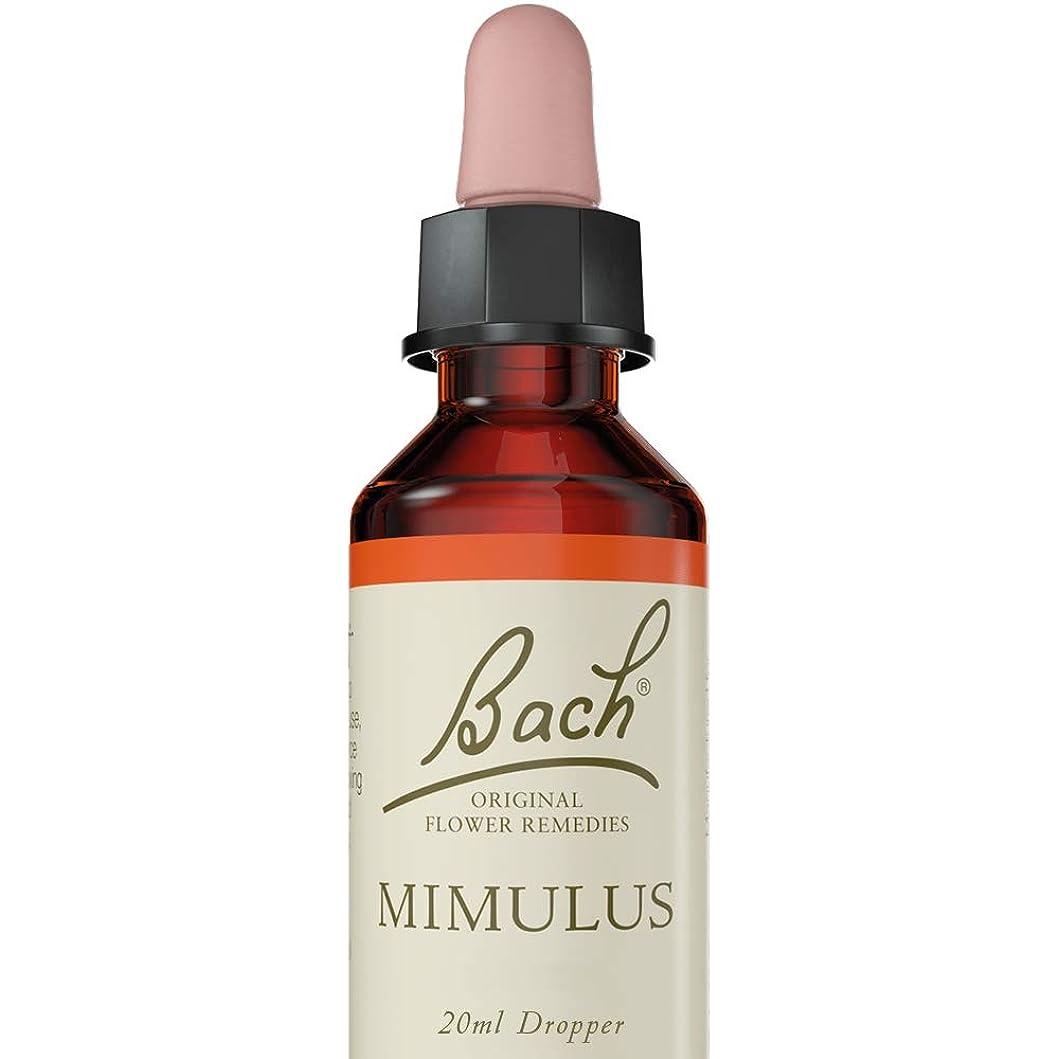 シニス広々感染するバッチフラワー ミムラス アルコールベース 20ml