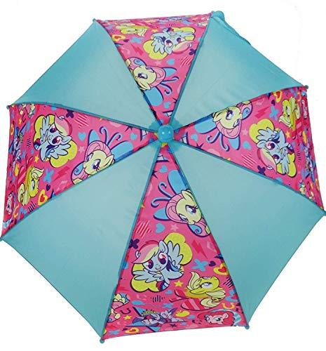 My Little Pony Blue & Pink School Rain Brolly Umbrella