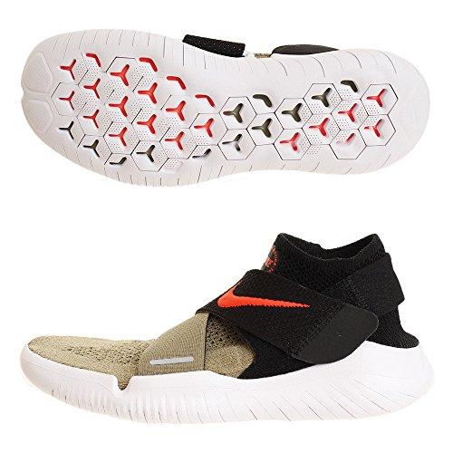 NIKE Free RN Motion FK 2018 Herren Running 942840 Sneakers Turnschuhe (UK 8 US 9 EU 42.5, neutral Olive Bright Crimson 200)