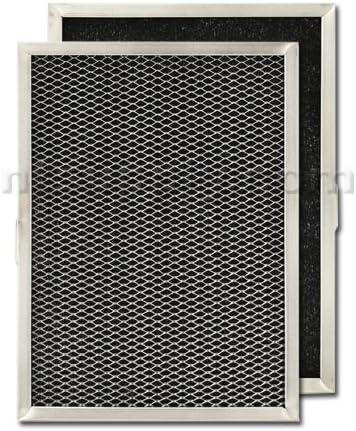 American Metal Carbon Range Hood Filter - 8-1/4