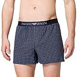Emporio Armani Underwear Boxer Classic Pattern Mix, Pequeño Cuadrado, S para Hombre