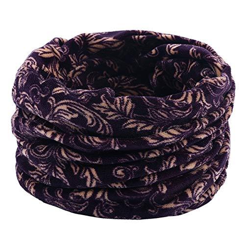 ZZYWJS sjaal voor herfst en winter, voor kinderen, sjaal met ring, halsdoek, voor dames en heren, warm, accessoire voor kinderen