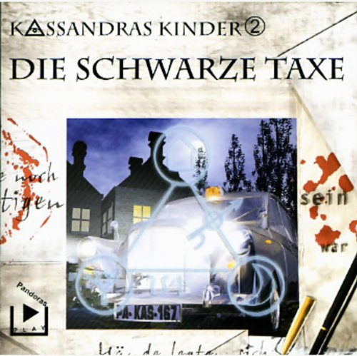 Die schwarze Taxe     Kassandras Kinder 2              By:                                                                                                                                 Katja Behnke                               Narrated by:                                                                                                                                 Marco Göllner,                                                                                        Nicola Preinesberger                      Length: 1 hr and 19 mins     Not rated yet     Overall 0.0