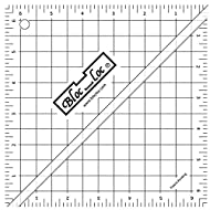 Half Square Acrylic Triangle Ruler, HST- 6.5x6.5 Inches