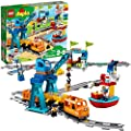 LEGO DUPLO Cargo Train 10875 Battery-Operated Building Blocks Set, Best Engineering and STEM Toy for Toddlers (105 Pieces)