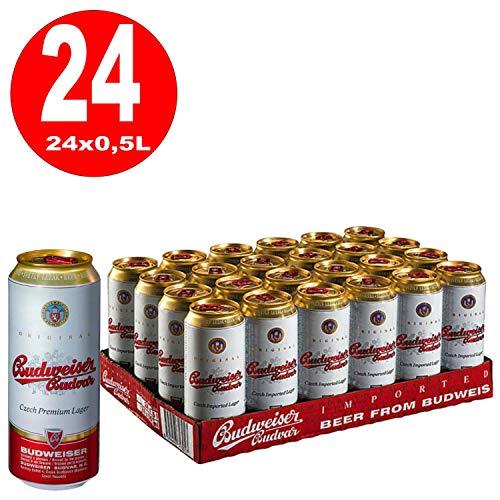 Budweiser Budvar ( 24 x 0.5 l), inkl. 6.00€ DPG Pfand, EINWEG