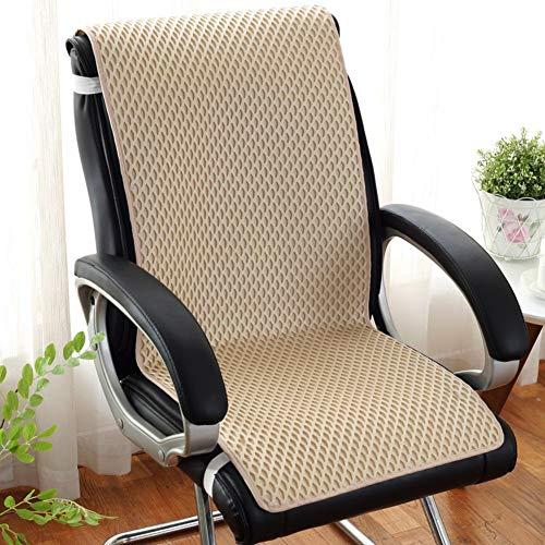 YLCJ MemoryL ademend kussen voor de zomer, antislip, antislip voor rugpijn met bijl en automatische stoel voor auto-c van Sciatica 45 x 135 cm (18 x 53 in)