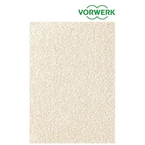 Vorwerk vlakpolig tapijt effen in lichtbeige woonkamer Muster bestellen