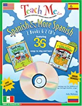 Teach Me Spanish & More Spanish: 2 Pack (Teach Me) (Spanish Edition)