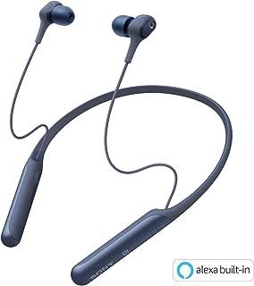 ソニー SONY ワイヤレスノイズキャンセリングイヤホン WI-C600N : Bluetooth対応/高音質モデル/apt-x対応 2019年モデル ブルー WI-C600N LM