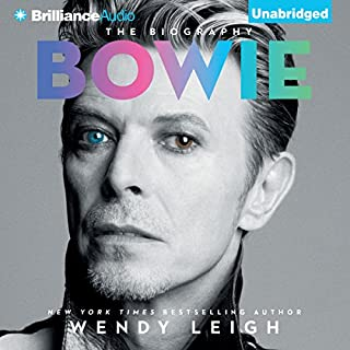 Bowie     The Biography              By:                                                                                                                                 Wendy Leigh                               Narrated by:                                                                                                                                 Simon Vance                      Length: 8 hrs and 3 mins     85 ratings     Overall 3.6