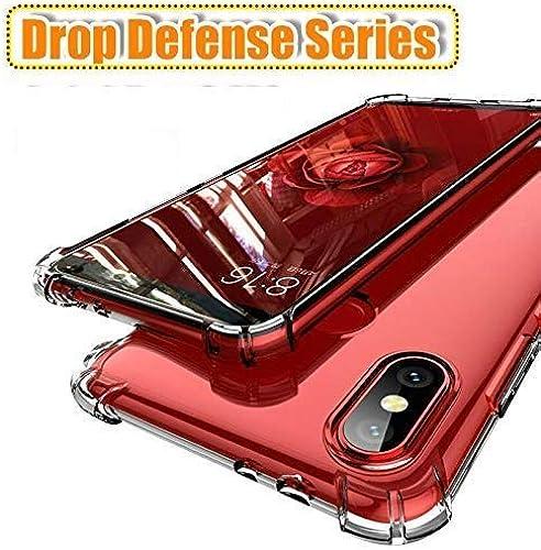 Caresale Transparent Back Case Cover For Xiaomi Redmi Mi 9A Anti Drop Shockproof With Bumper Corner Screen And Camera Protection Soft Silicone TPU Case Transparent