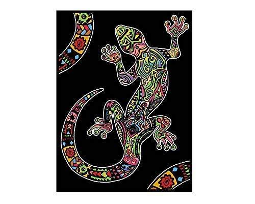 Colorvelvet L105 - Disegno Geko, 47 x 35 cm