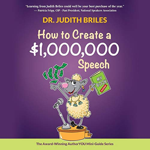 How to Create a $1,000,000 Speech audiobook cover art