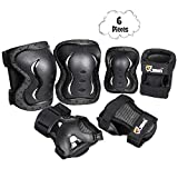 Best Elbow And Knee Pads - JBM Children Cycling Roller Skating Knee Elbow Wrist Review
