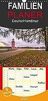 Deutschlandtour - Familienplaner hoch (Wandkalender 2022 , 21 cm x 45 cm, hoch): Wandkalender mit fantastischen Bildern quer durch Deutschland (Monatskalender, 14 Seiten )