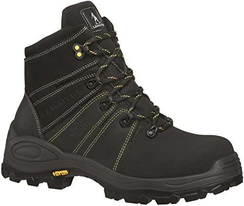 Lemaitre Chaussures de sécurité Montantes Trek Noir S3 CI SRC 100% Non métalliques