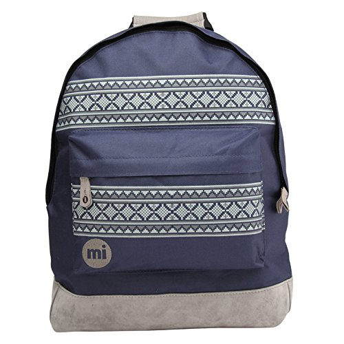 Mi-Pac - Mochila casual Unisex adulto, Multicolor (Navy/Charcoal), 42 cm