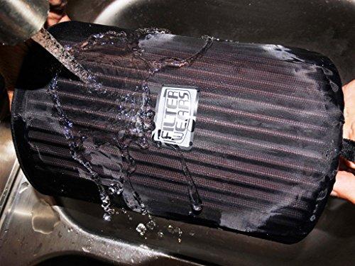 FILTERWEARS Pre-Filter F134K For Polaris RZR XP 1000 Stock Air Filters 1240822 1240957 1241084 7082097, K&N PL-1014; BLACK