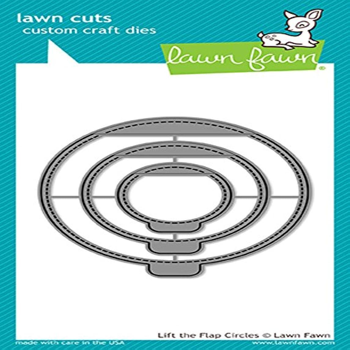 Lawn Fawn Lawn Cuts Custom Craft Die - LF1714 Lift The Flap Circles