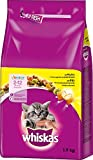 Whiskas, Comida Seca para Gatos, junior de 2 a 12 meses, pack de 6