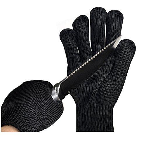 Engshwn resistente al corte guantes de alto rendimiento de malla de alambre...